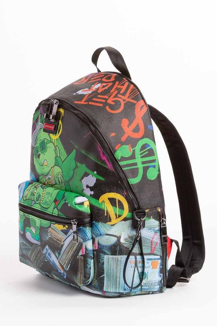 Sprayground Money Bear Stack Backpack