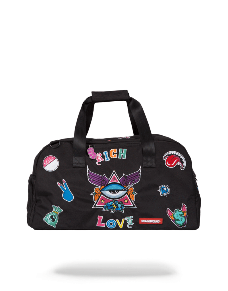 SPRAYGROUND RICH LOVE DUFFLE BAG