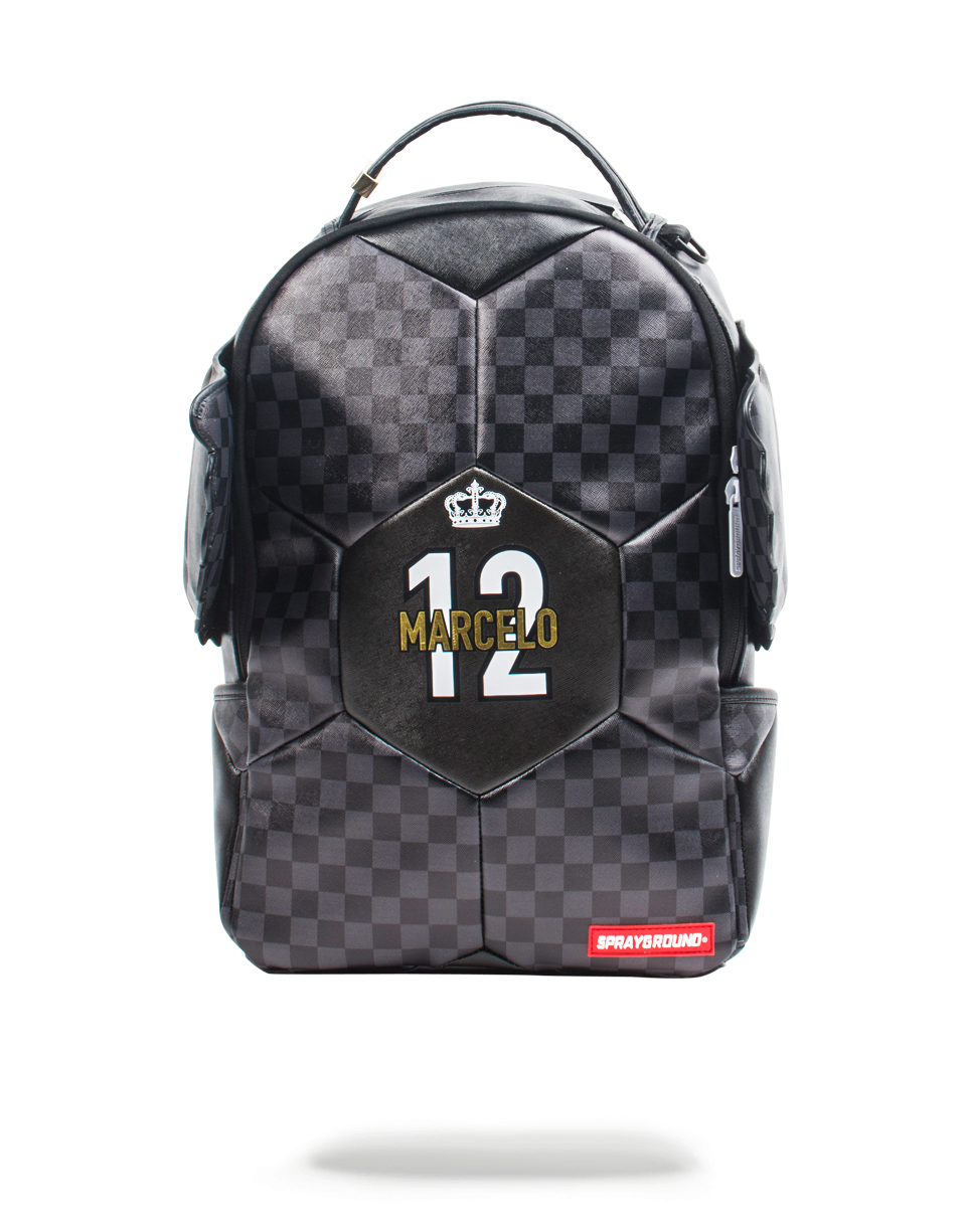 Sprayground Marcelo Soccer King Checker Backpack