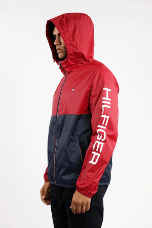 f37db39a TOMMY HILFIGER OUTERWEAR MENS COLORBLOCK WINDBREAKER – Against All Odds