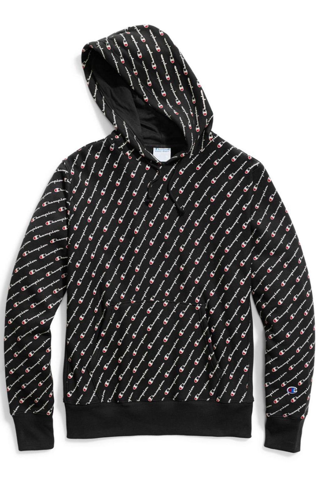 CHAMPION MENS REVERSE WEAVE ALL OVER PULLOVER