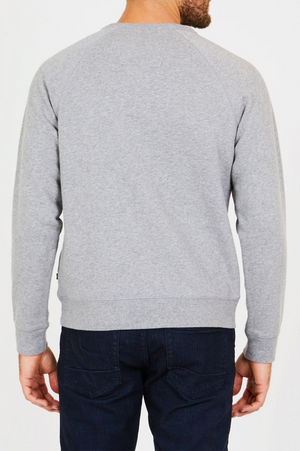 Nautica Mens Fleece Graphic Crew