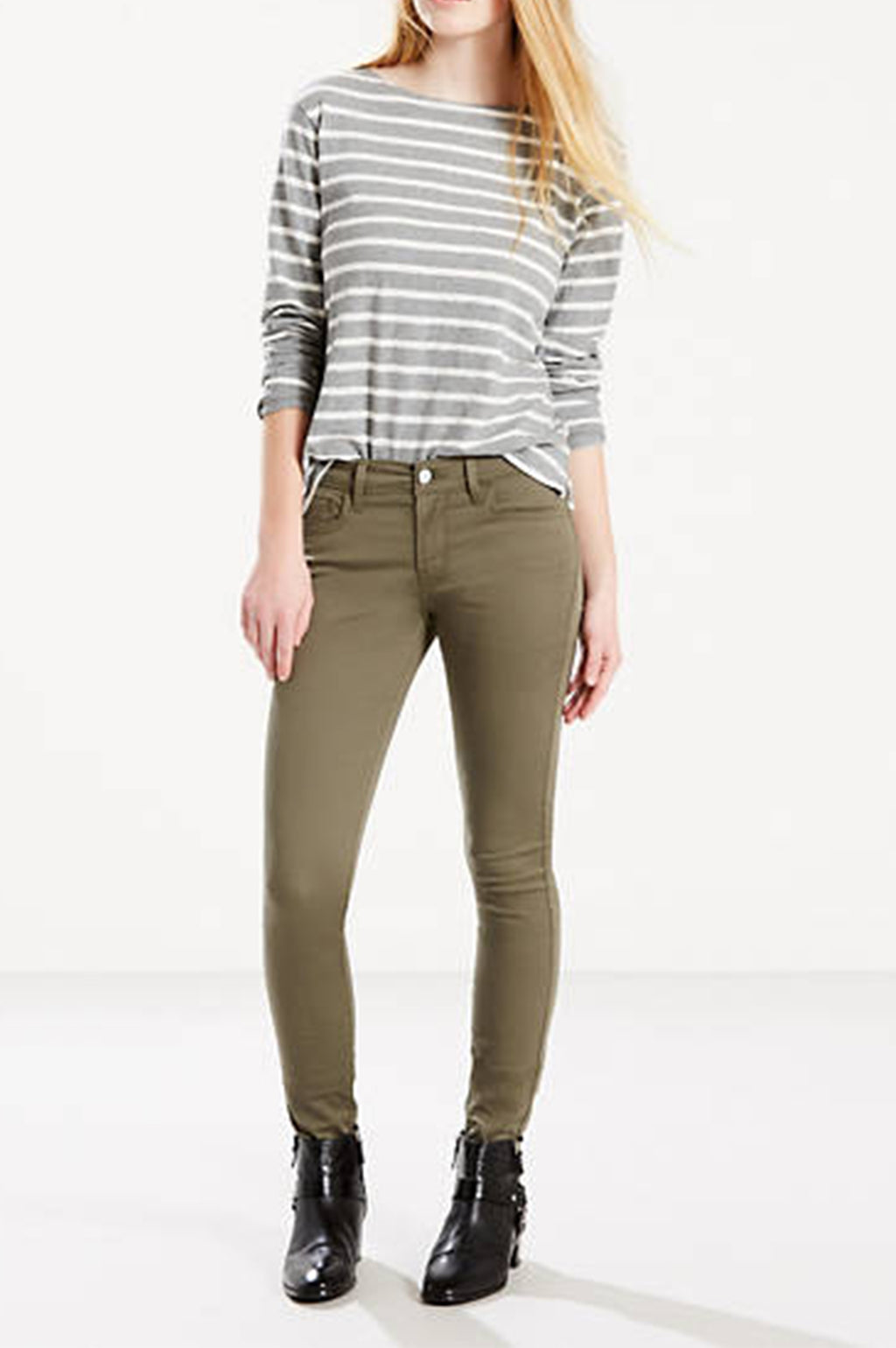 LEVI'S WOMENS 710 SUPPER SKINNY