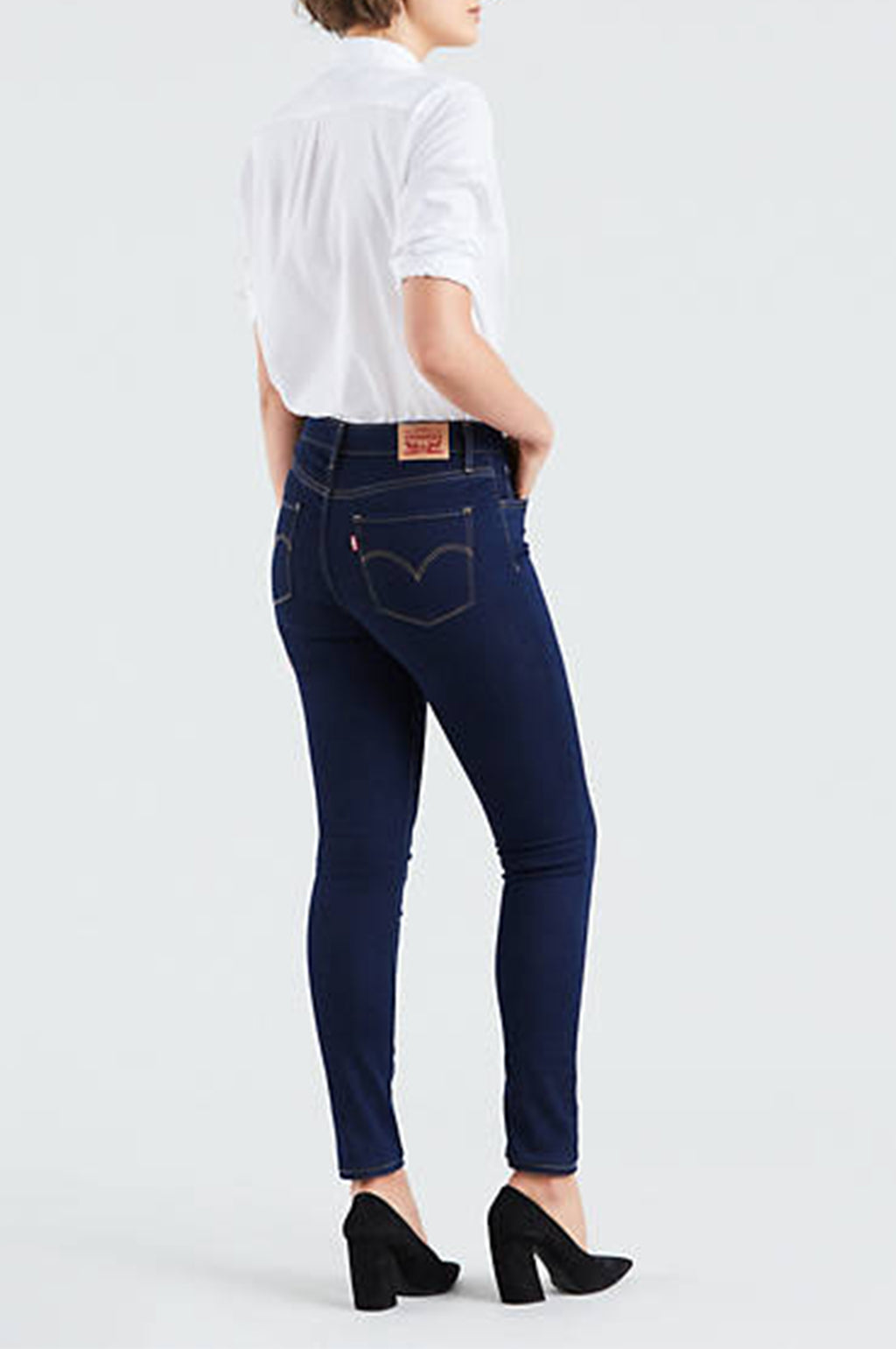 LEVI'S WOMENS HIGH RISE SKINNY