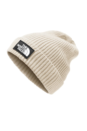 THE NORTH FACE LOGO BOXED CUFFED BEANIE