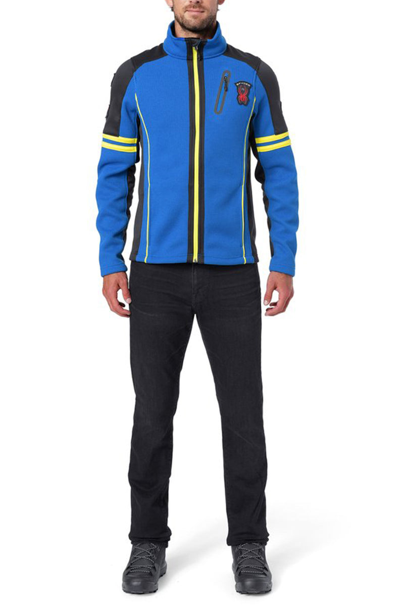 Spyder Mens Wengen Full Zip Stryke Jacket