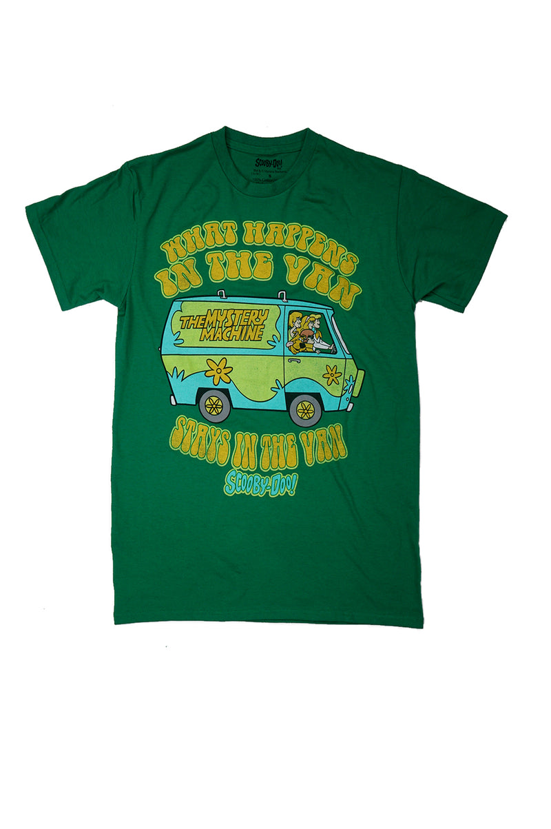 AAO FASHION MENS S/S SCOOBYDOO=WHAT HAPPENS IN THE VAN TEE