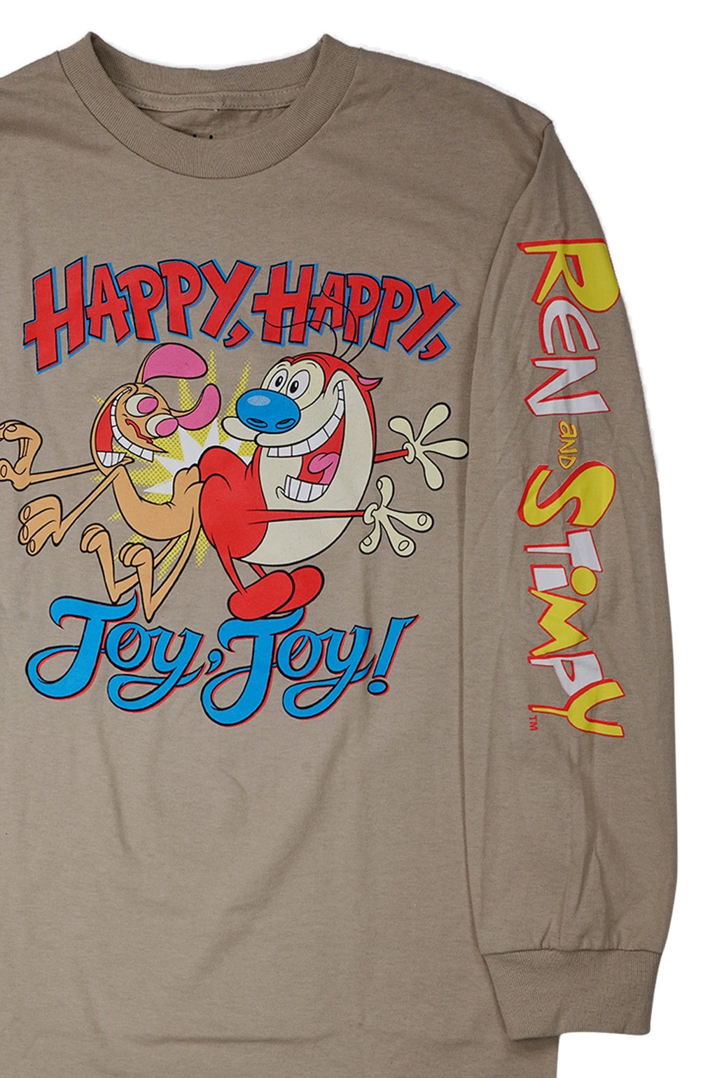 AAO FASHION MENS REN STIMPY=HAPPY JOY RS