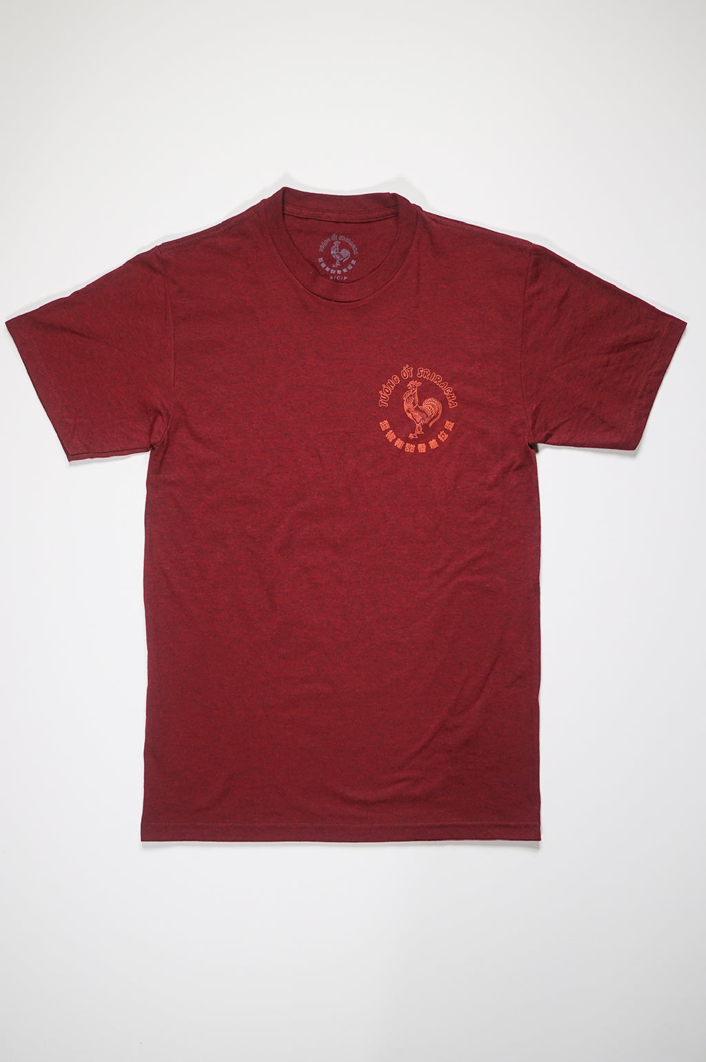 Aao Fashion Mens Sriracha=Logo Box S/S Tee