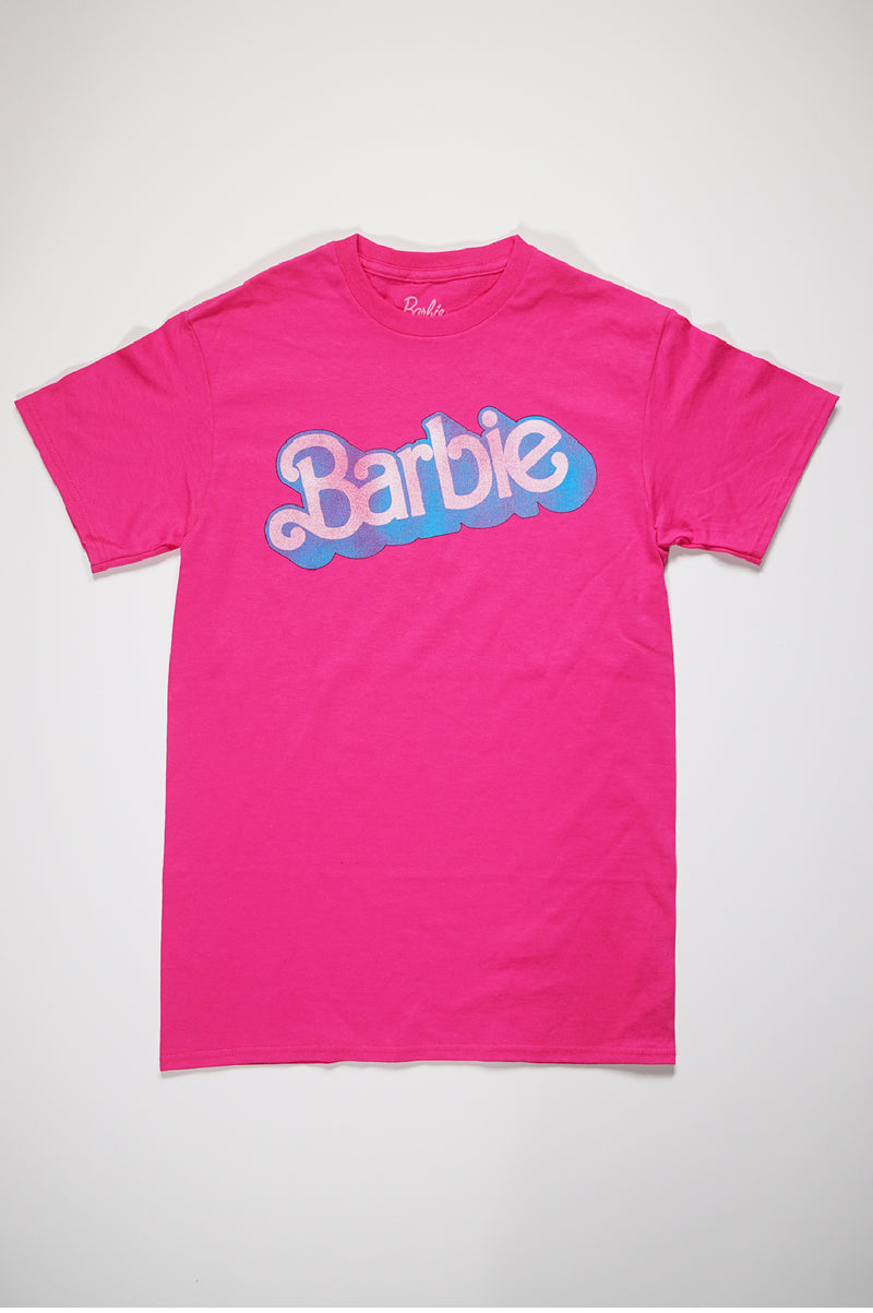 Aao Fashion Mens Barbie=Retro Barbie S/S Tee