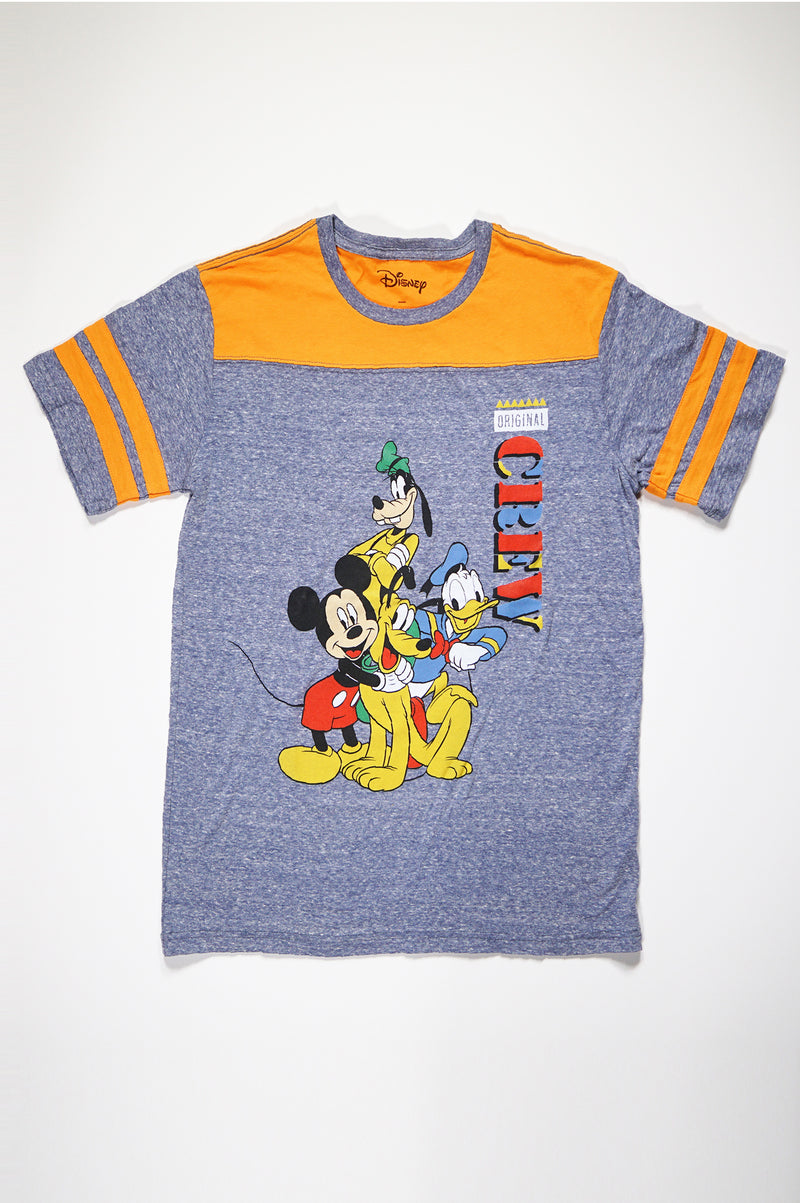 Aao Fashion Mens Disney=Original Crew