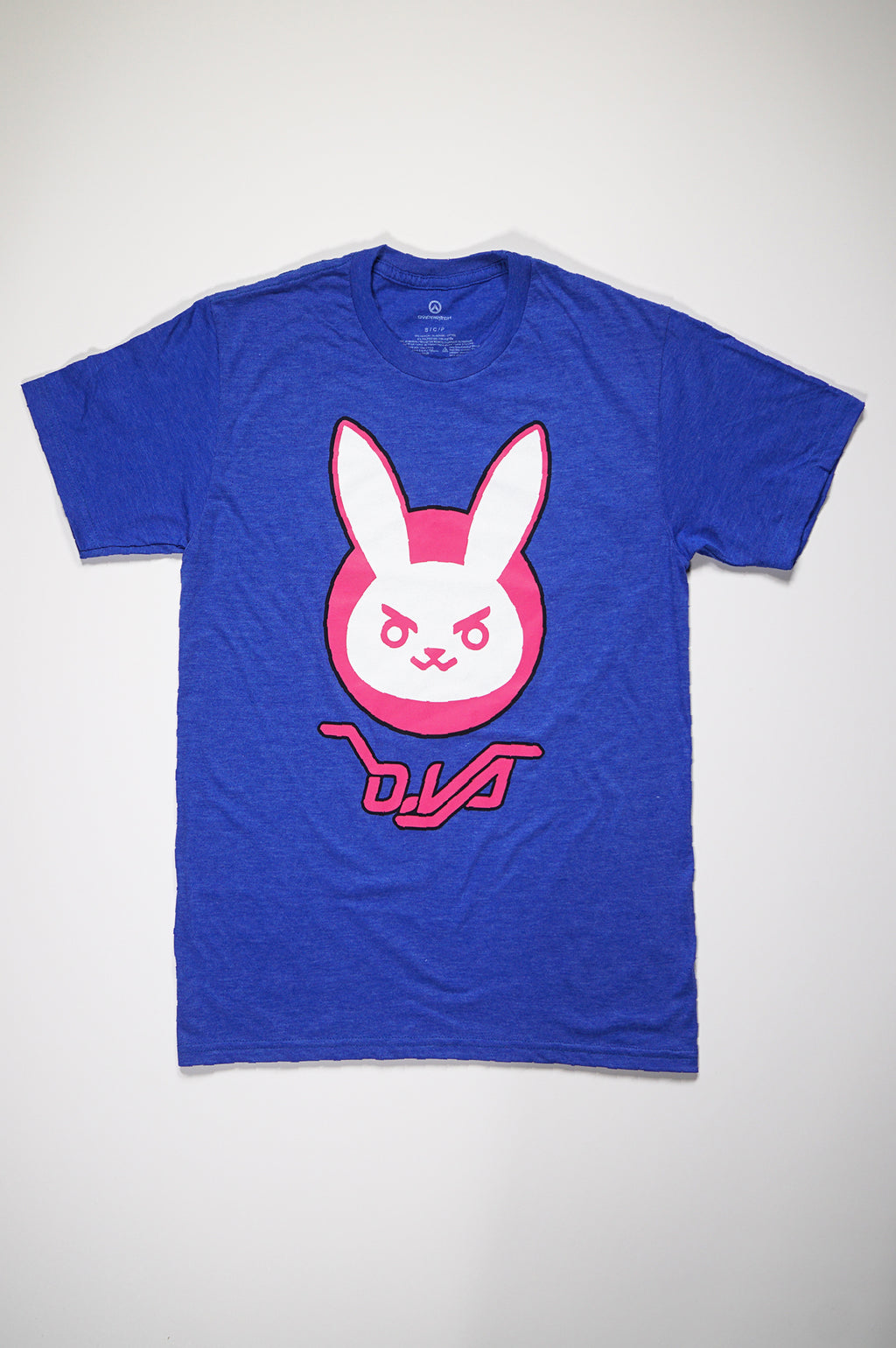 Aao Fashion Mens Overwatch=D-Va Rabbit Tee