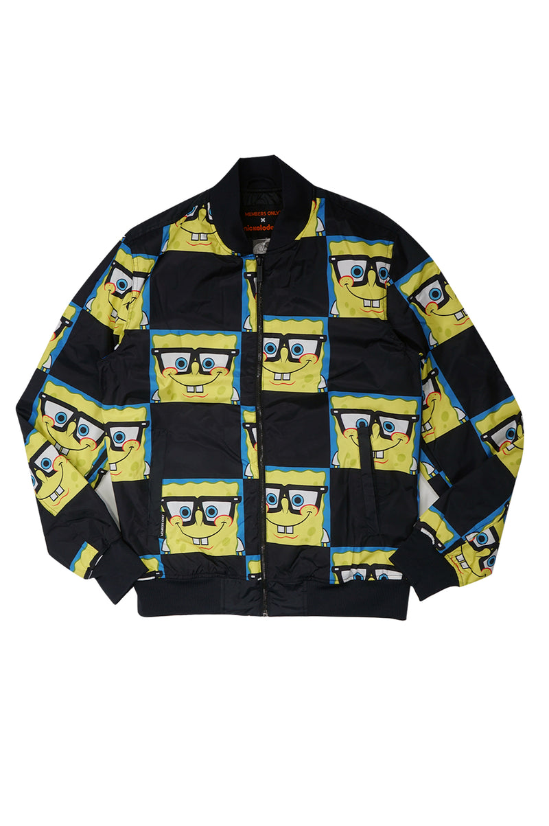 MEMBERS ONLY MENS SPONGE BOMBER JACKET