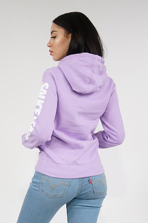 Aao Fashion Womens Verbiage Hoody