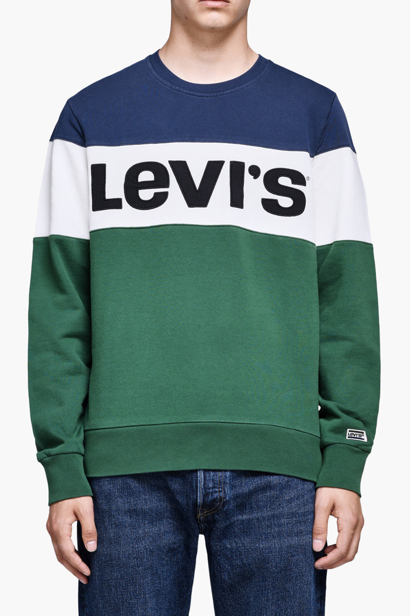 Levi'S Mens Colorblock Crewneck
