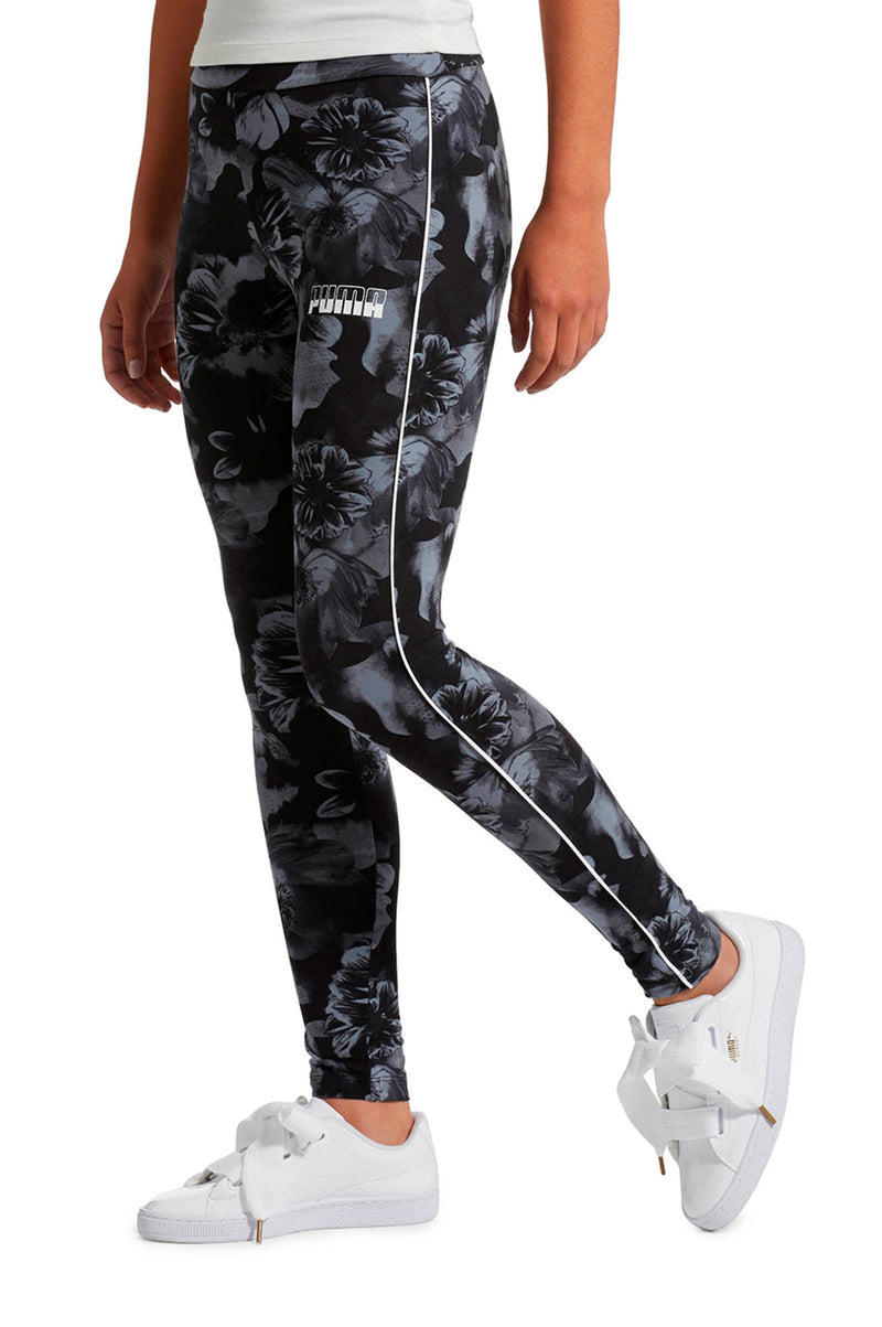 PUMA Womens Rebel Aop Leggings