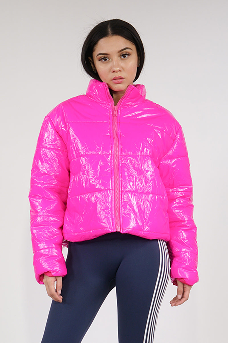 Aao Fashion Womens Short Puffer Jacket