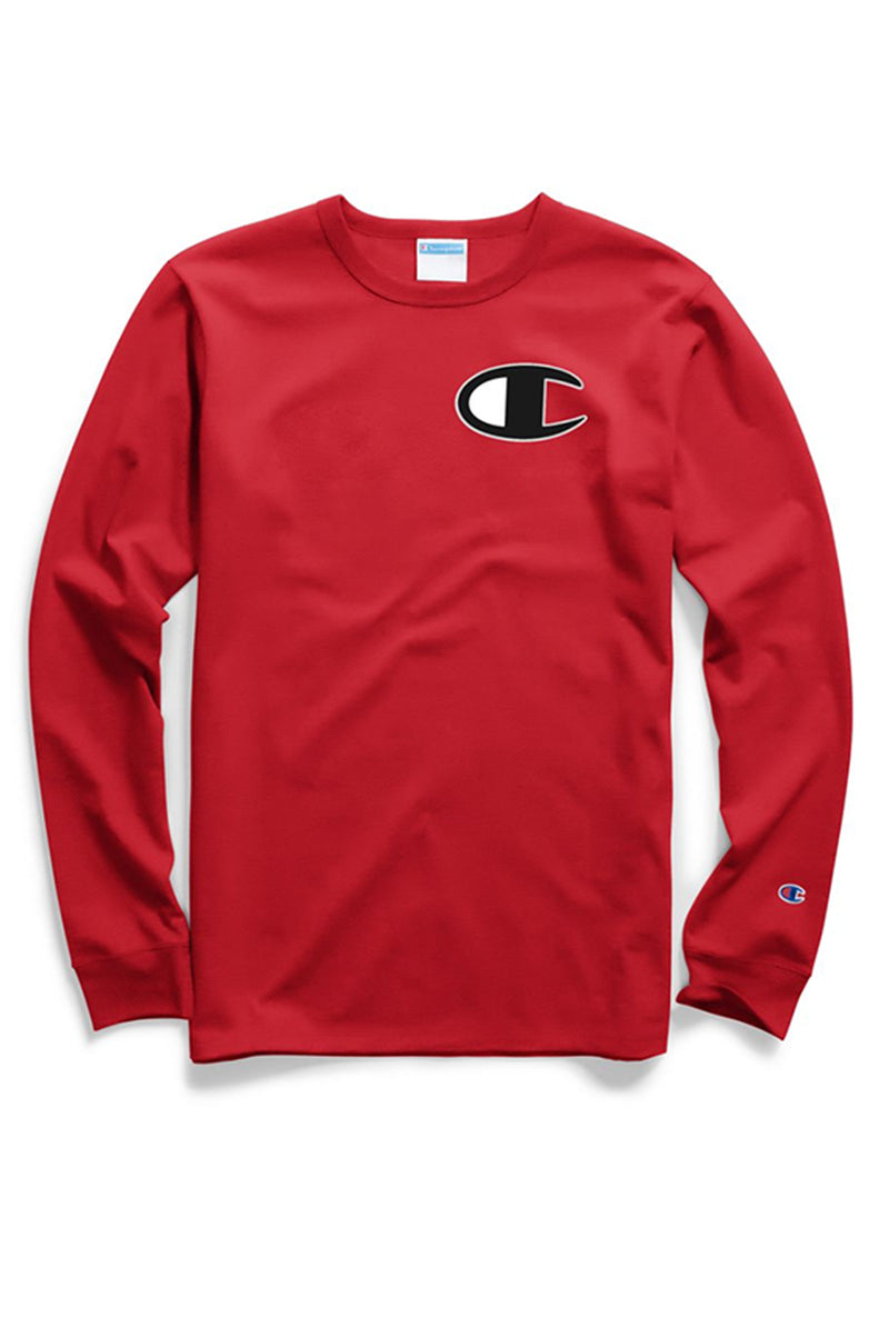 Champion Mens Heritage Long Sleeve