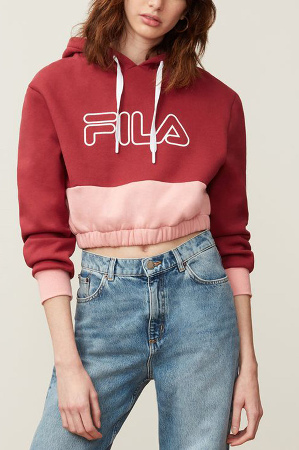FILA Womens Embroidered Fila Linear Logo