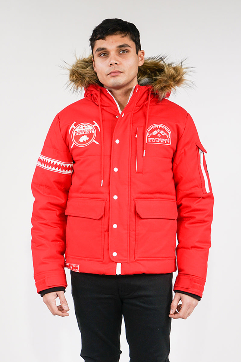 Sprayground Mens Sky High Seekers Chopper Jacket