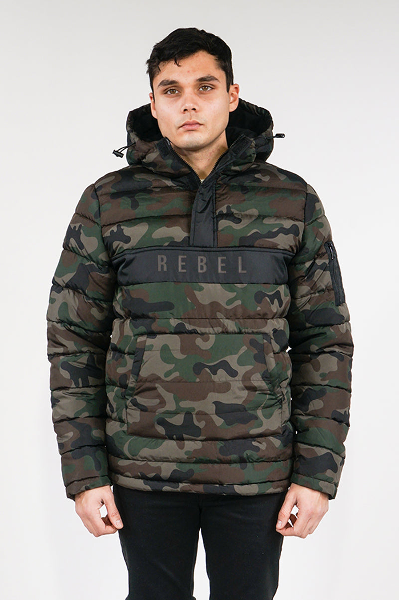 Aao Fashion Mens Anorak Bubbler Jacket