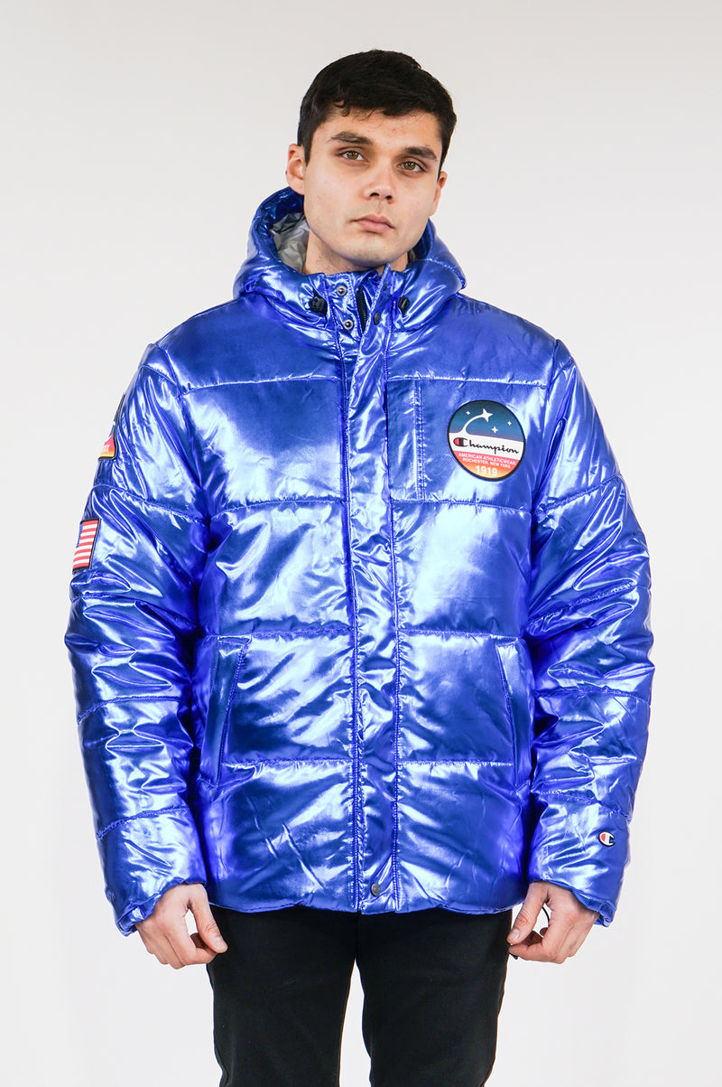 Champion Mens Metallic Puffer