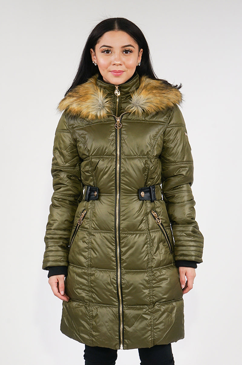 Aao Fashion Womens Long Bubble Jacket
