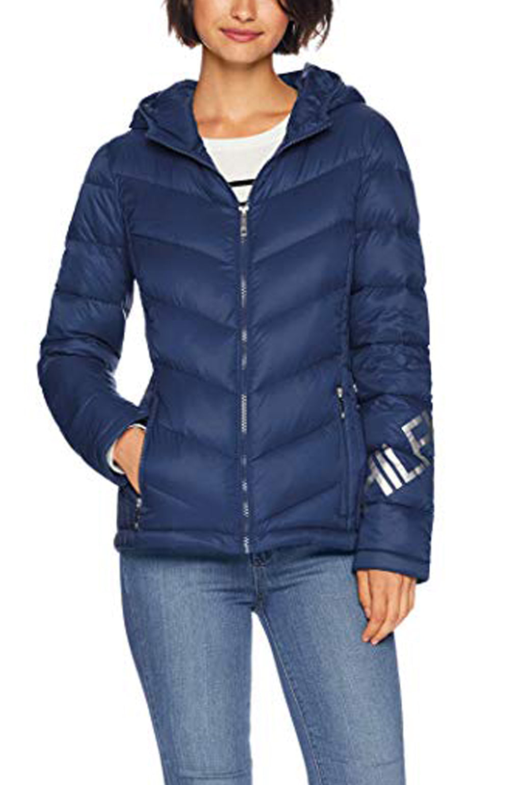 Tommy Hilfiger Outerwear  Womens Iconic Packable Hooded Down Jacket