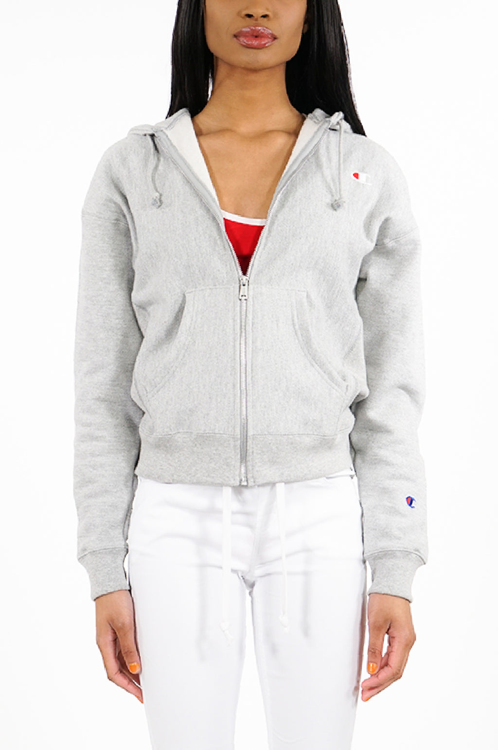 Champion Womens Reverse Weave Full Zip Hood