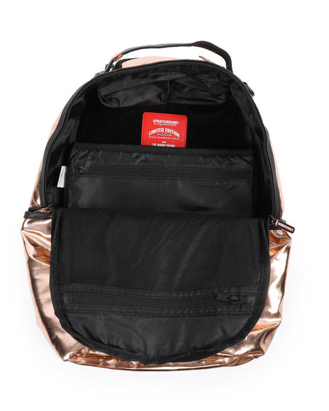 Sprayground Rose Fine Gold Backpack