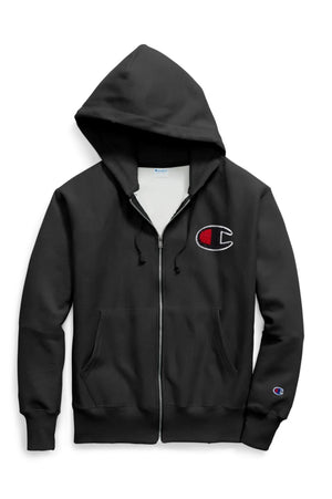 Champion Mens Reverse Weave Full Zip