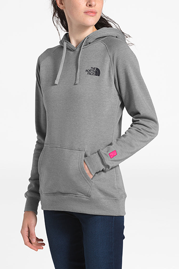 North Face Women Pink Ribbon Hoodie