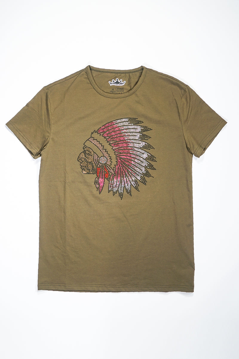 Aao Fashion Mens Tribal Tee