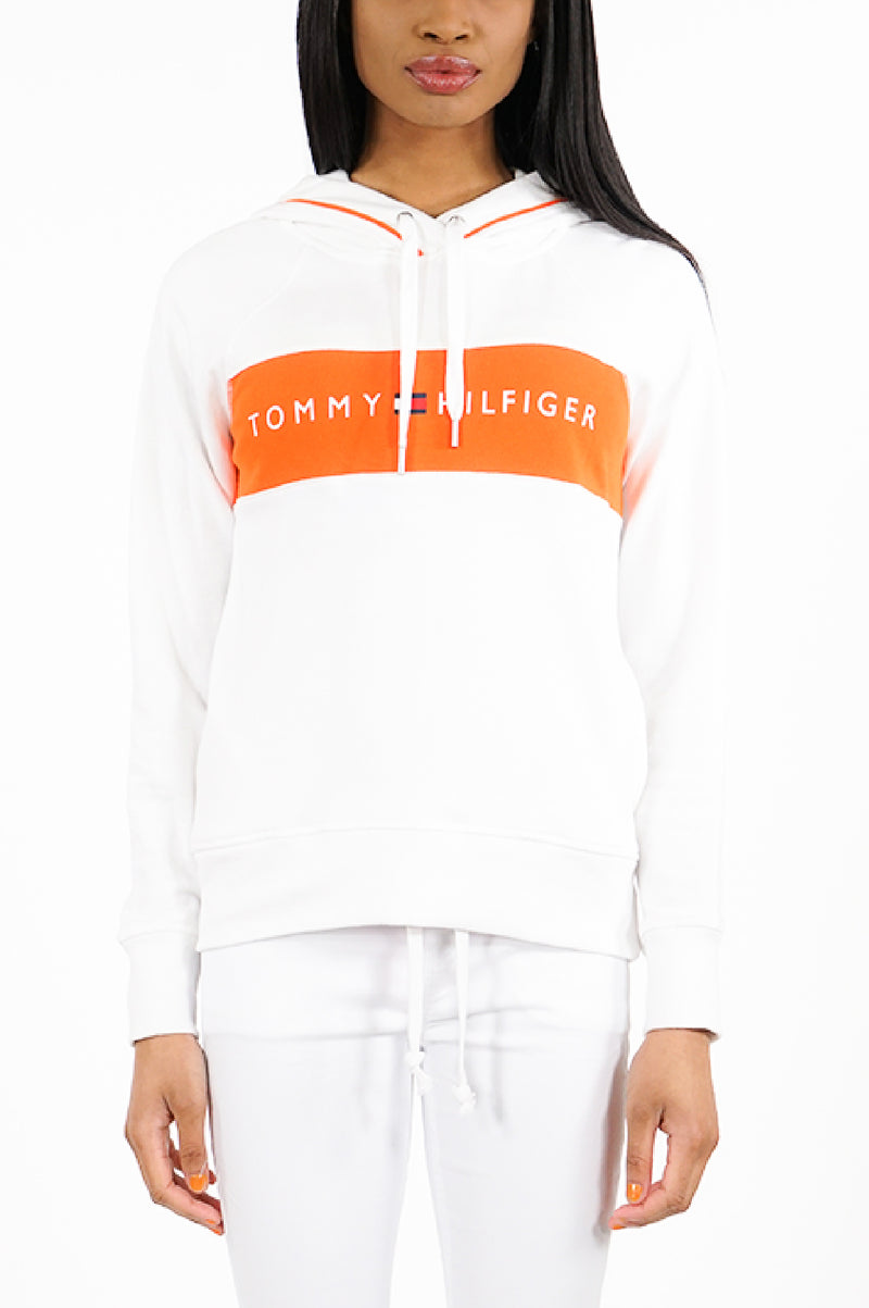 Tommy Hilfiger Activewear Womens L/S Color Blocked Hoodie