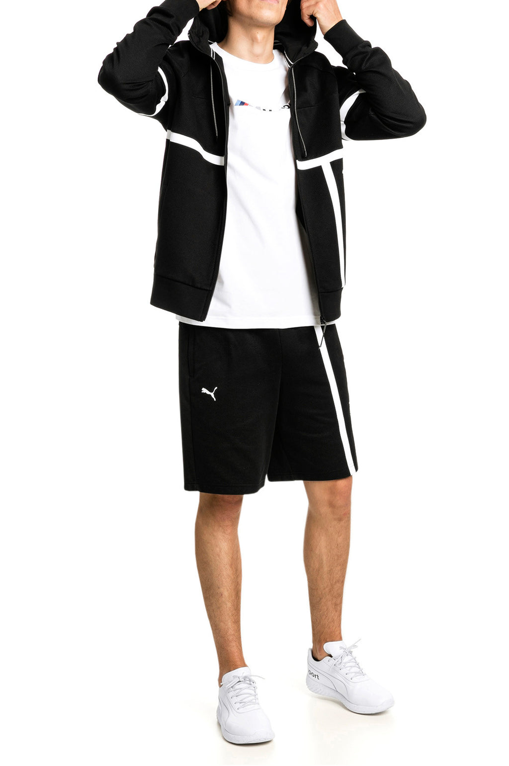 Puma Men Bmw Mms Hooded Sweat Jacket