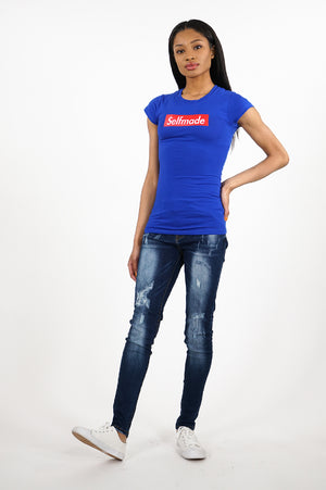Aao Fashion Women Verbiage Tshirts
