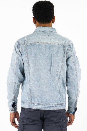 Aao Fashion Men Denim Jacket