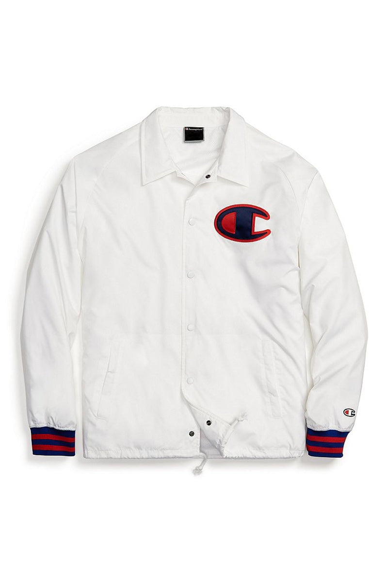 Champion Men Satin Coaches Jacket
