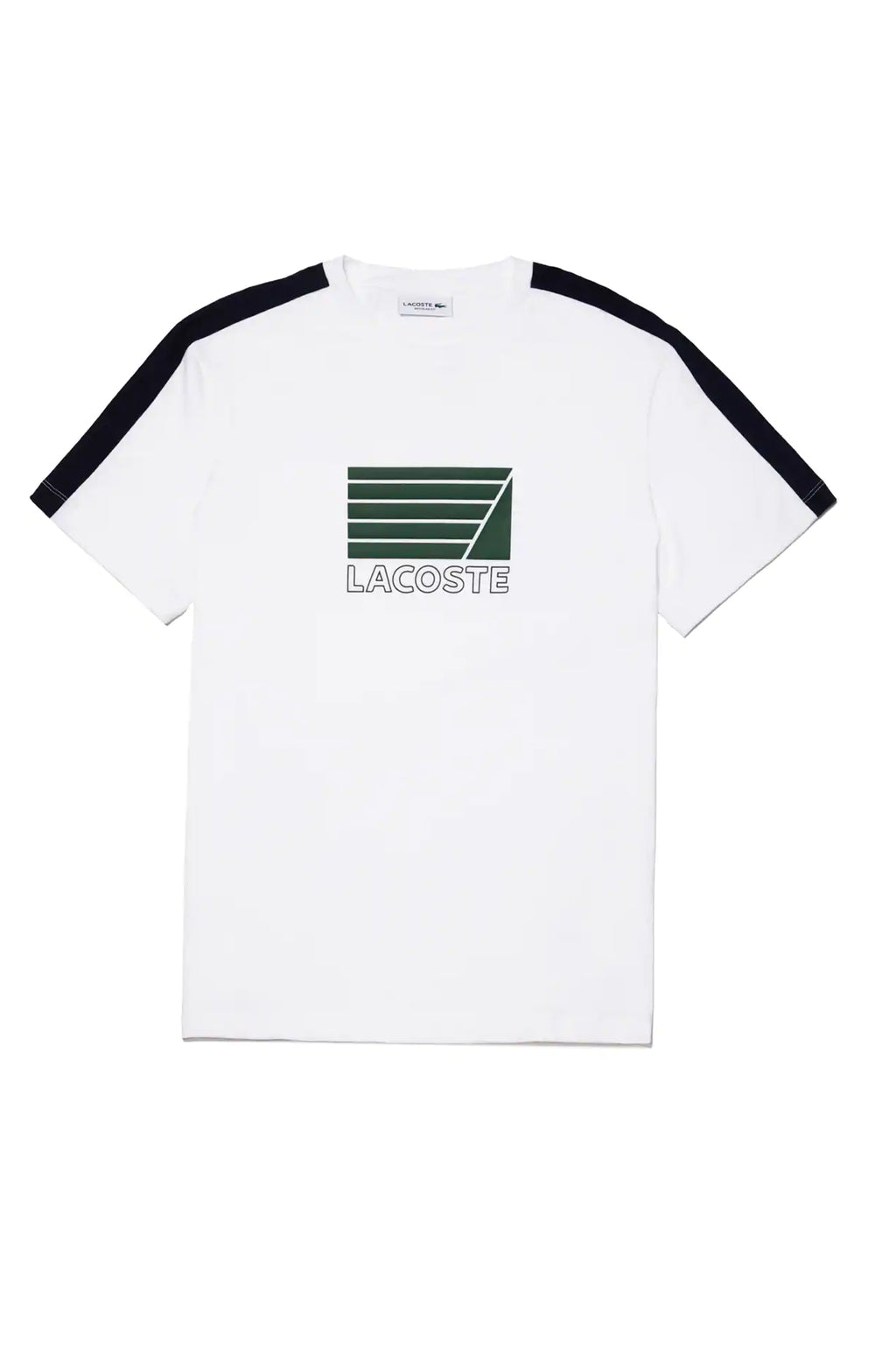 Lacoste Men Ss Jersey Graphic Tee