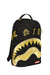 Sprayground Acc Destroy Black Gold Camo Backpack
