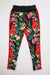 Aao Fashion Men Poly Jersey Floral Track Pants