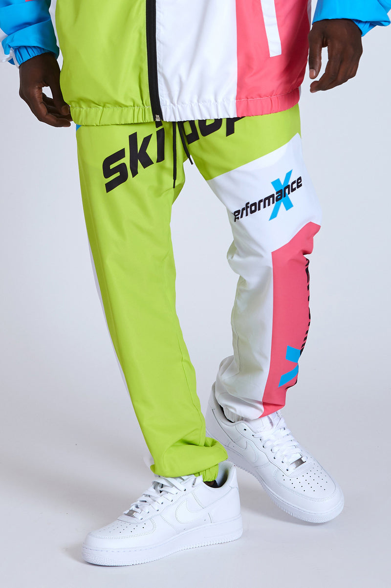Aao Fashion Men Ski-Dope Windbreaker Pants