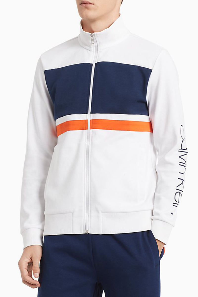Calvin Klein Sportswear Men Athleisure Full Zip Jacket