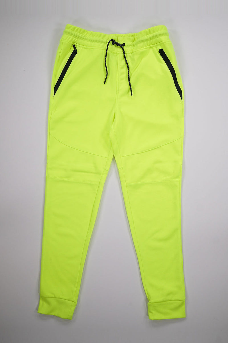 Aao Fashion Men Neon Tech Fleece Pants
