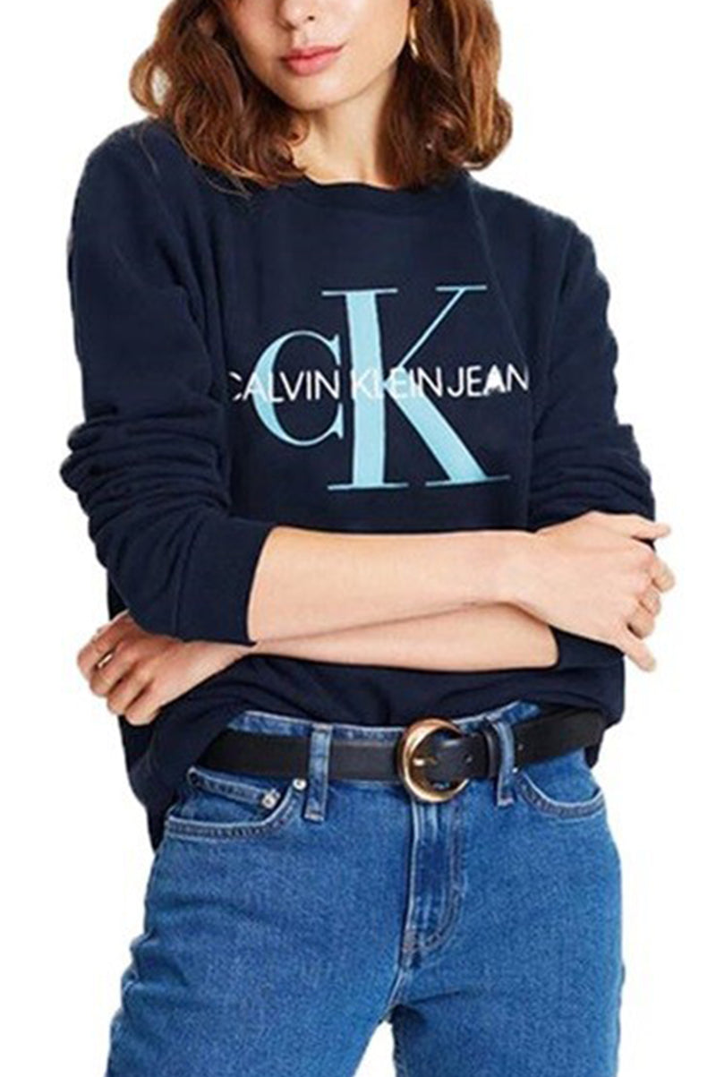 Calvin Klein Women Re Issue Logo Sweatshirt