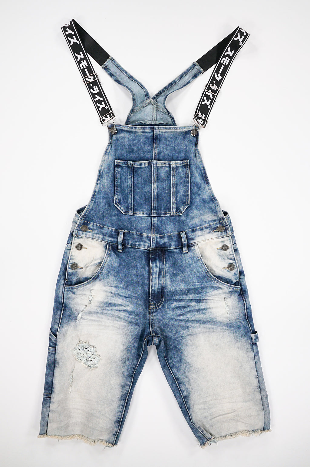 Aao Fashion Men Overall Denim Shorts