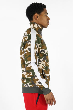 Aao Fashion Men Camo Track Jacket
