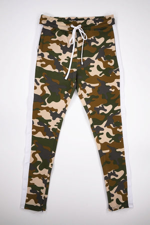 Aao Fashion Men Camo Track Pants