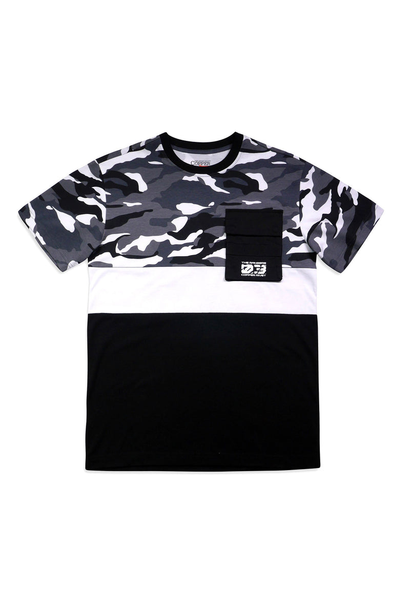 Aao Fashion Men Camo Utility S/S Tee