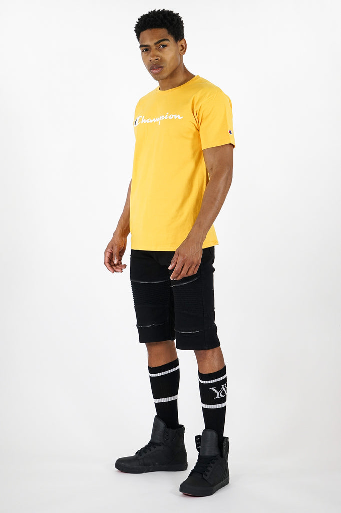 Champion Men Graphic Tee Script